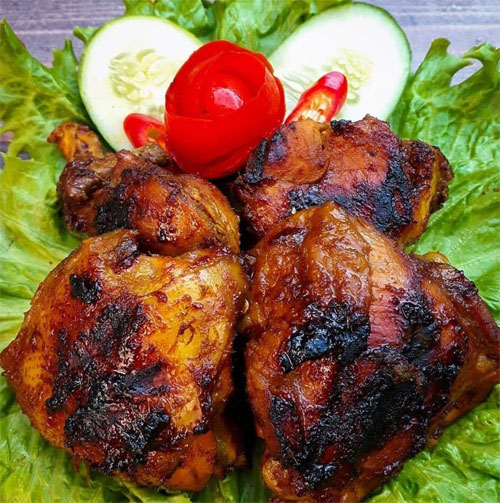 Resep ayam bakar sederhana