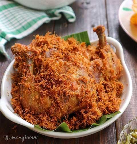 Resep Ayam Goreng Padang Gurih Dan Sedapnya Super Bikin Ketagihan