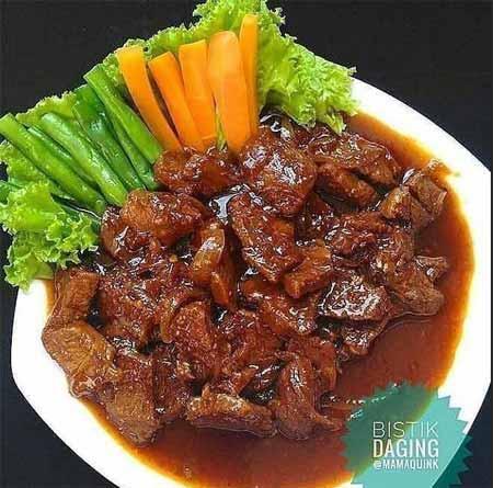 Resep Bistik Daging Sapi Spesial Kuah Kental Super Lezat