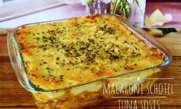 Aneka Resep Macaroni Schotel Camilan Enak Gurih dan Lezat 1
