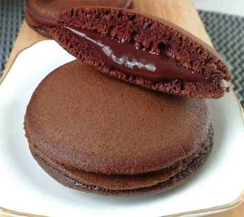 resep dorayaki chocolate