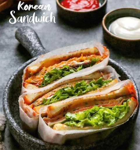 korean sandwich