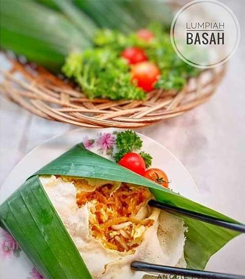 resep lumpia basah Bandung