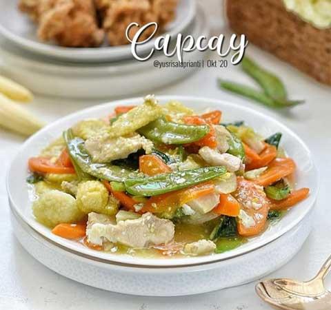 4 Resep Masakan Capcay Enak Dan Super Lezat Serta Gampang Dibuat