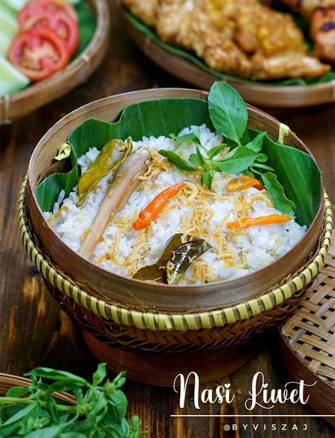 nasi liwet Sunda