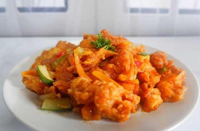 2 Resep Ayam Asam Manis Spesial Ala Restoran Super Lezat