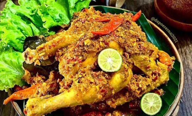 resep ayam betutu pedas