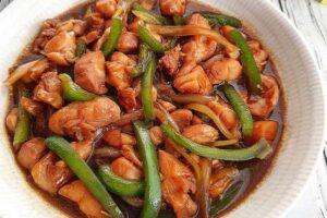 resep ayam paprika
