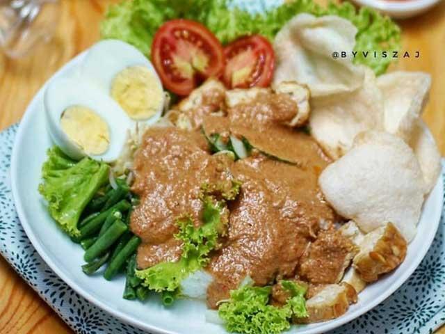 Resep Gado Gado Surabaya Enak Dan Super Lezat Serta Mudah Dibuat