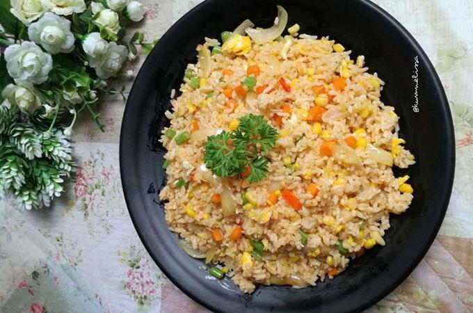2 Resep Nasi Goreng Hongkong Super Sedap Ala Restoran Resep Istimewa