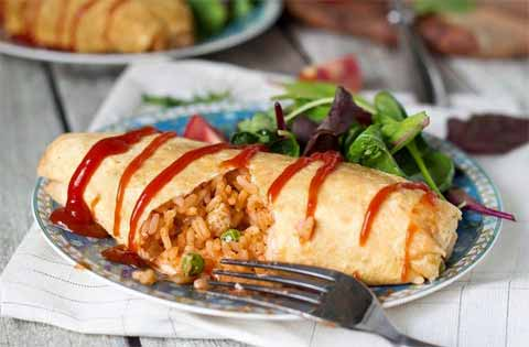 resep omelet nasi
