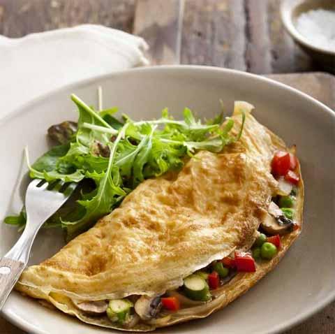 resep omelet sayur