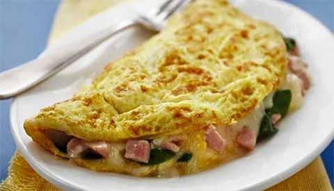 resep omelet sosis