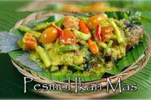 resep pesmol ikan mas