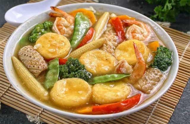 Resep Sapo Tahu Seafood Enak Penuh Gizi Dan Super Lezat