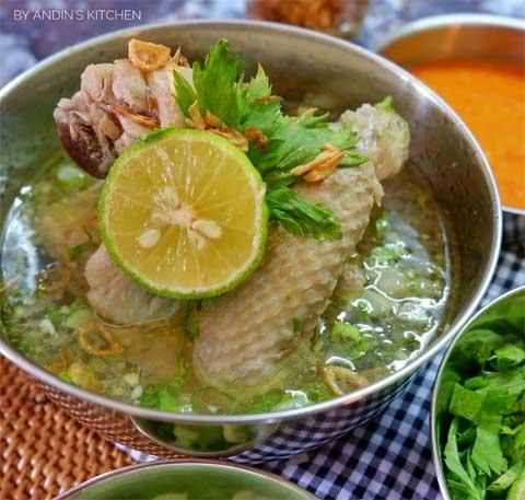 Resep Sop Ayam Pak Min Klaten Enak Sederhana Dan Super Gurih