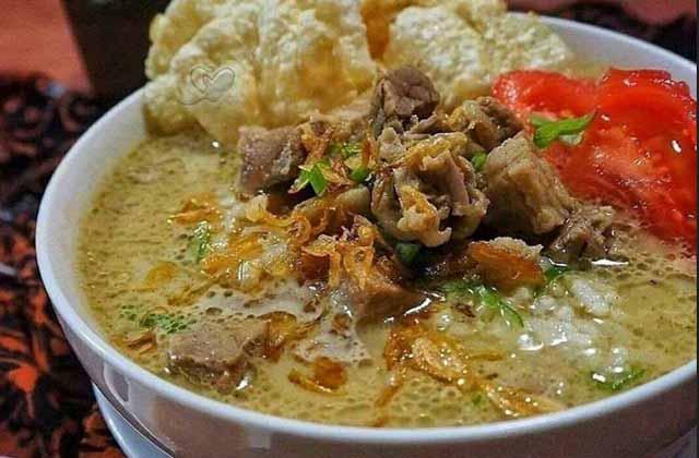 Jakarte Punya Soto, Namanya Soto Betawi sebagai makanan khas Betawi